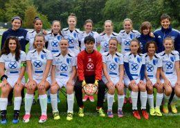 Junge Fussballerinnen