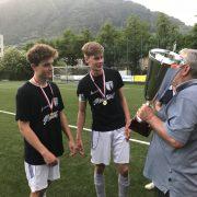 Das Juniorenteam der SpG Obermais/Algund dominiert letztes Meisterschaftsspiel gegen Naturns und holt den Meistertitel Die starke Saison des Juniorenteams wurde mit dem verdienten Gewinn des Meistertitels gekrönt. Im letzten entscheidenden Spiel konnte das zweitplatzierte Te
