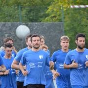 Trainingsbeginn erste Mannschaft